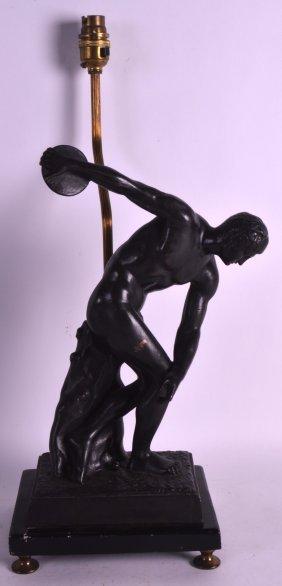 A 19th Century Italian Grand Tour Bronze Figure Of A