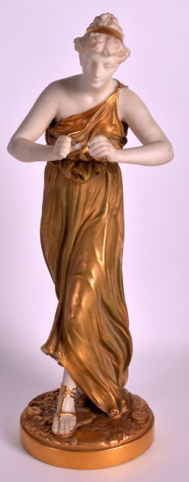 A 19th Century Royal Worcester Model Of A Classical