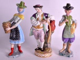 A 19th Century Meissen Porcelain Figural Group