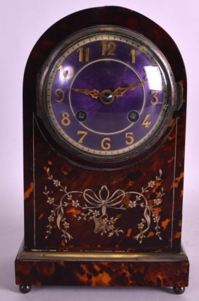 A Fine And Rare Late 19th Century French Tortoiseshell