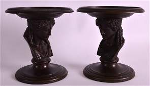 Ferdinand Barbedienne 18101892 A fine pair of bronze