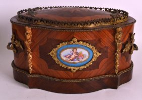 A Good Mid 19th Century French Sevres Porcelain And