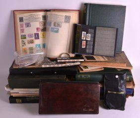 A Very Large Collection Of Stamps And First Day Covers