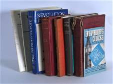 A SMALL GROUP OF CLOCK AND HOROLOGICAL RELATED BOOKS