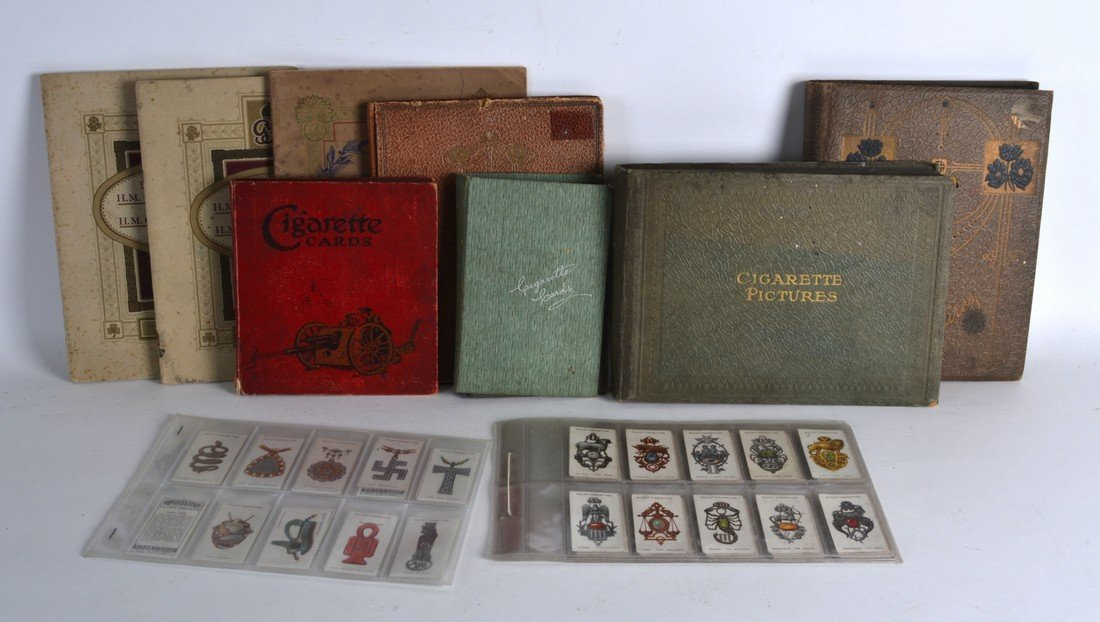 A QUANTITY OF CIGARETTE CARD ALBUMS, mostly Will's and