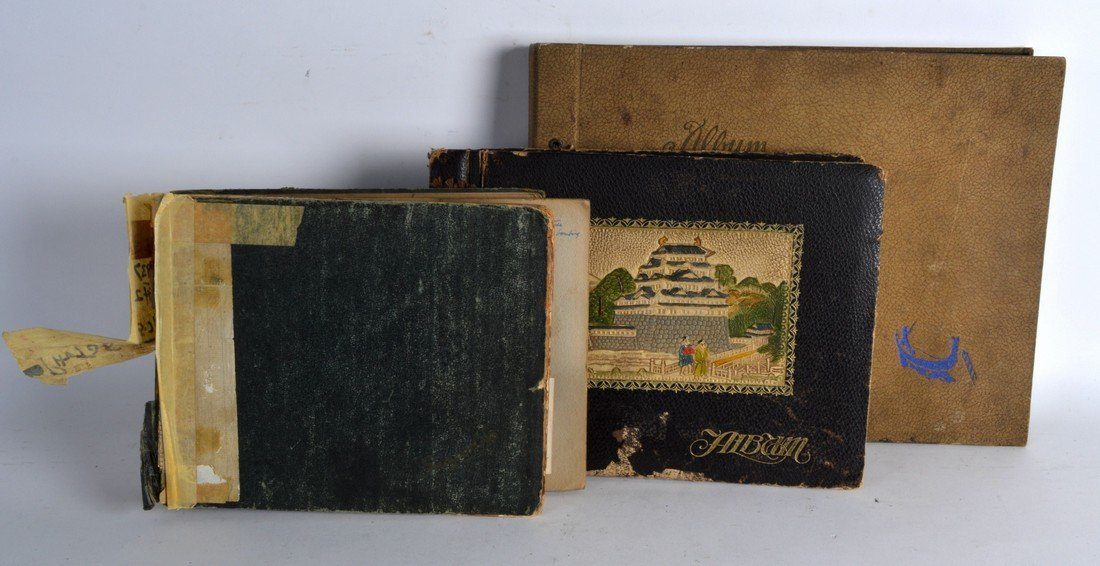 THREE 1930'S PHOTOGRAPH ALBUMS, including shipping