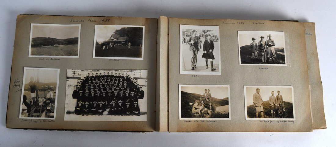 THREE 1930'S PHOTOGRAPH ALBUMS, including shipping - 2