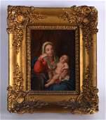 Continental School 19th Century Framed oil on canvas