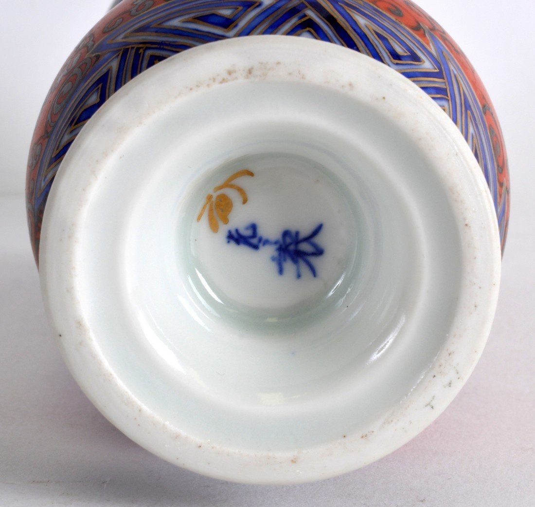 AN EARLY 20TH CENTURY JAPANESE MEIJI PERIOD PORCELAIN - 2