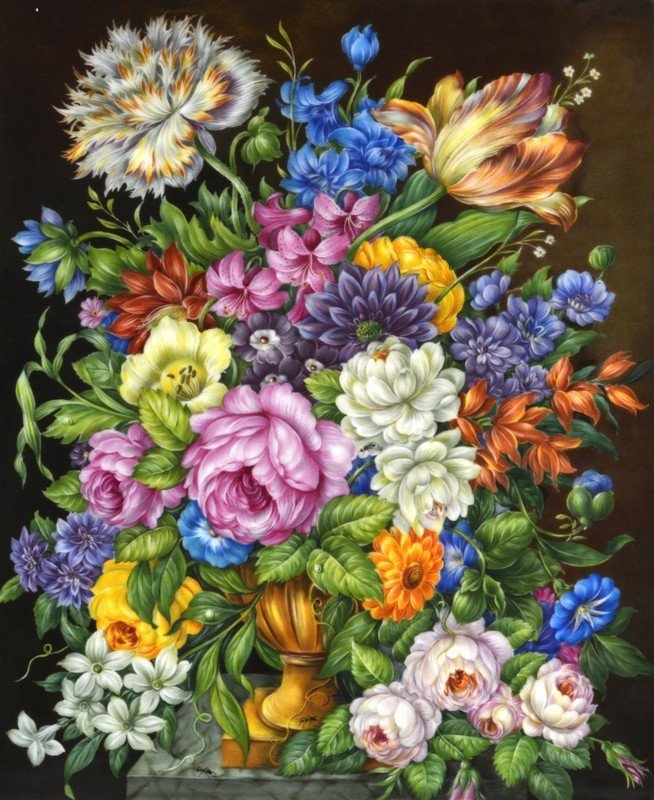 A LOVELY 19TH CENTURY ENGLISH PORCELAIN PLAQUE painted