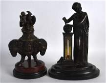 A 19TH CENTURY ITALIAN BRONZE GRAND TOUR FIGURAL