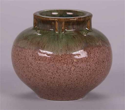 Fulper Pottery Spherical Vase