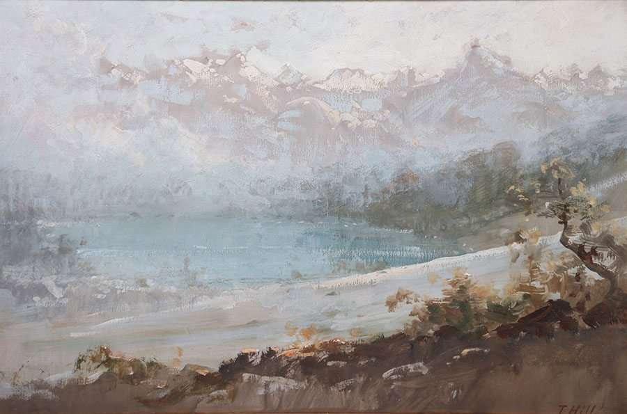 Thomas Hill Painting Yosemite - Lake Tenaya