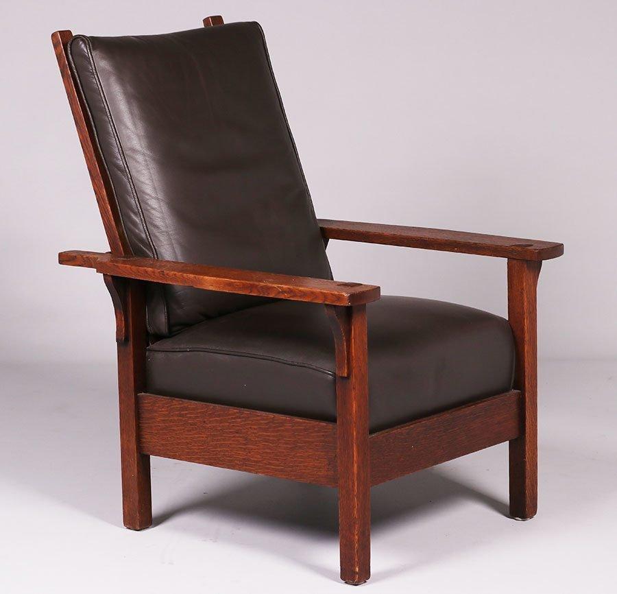 Gustav Stickley #346 Morris Chair