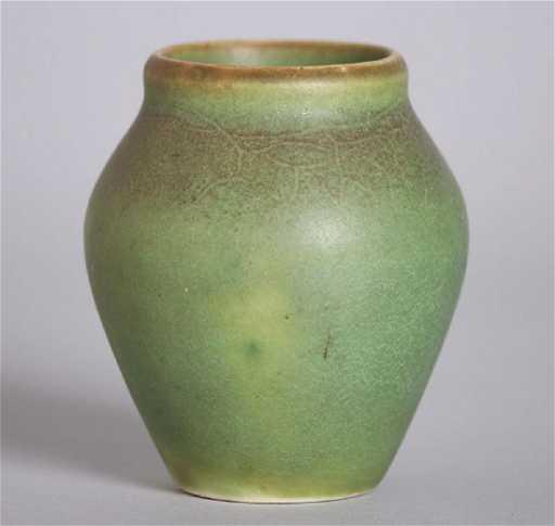 Rookwood Matte Green Cabinet Vase 1905