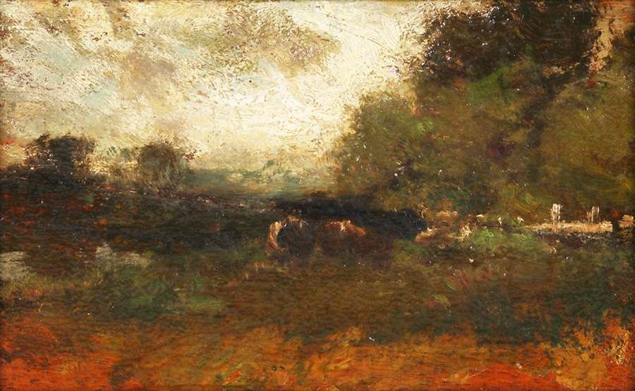 William Keith Small Landscape Painting