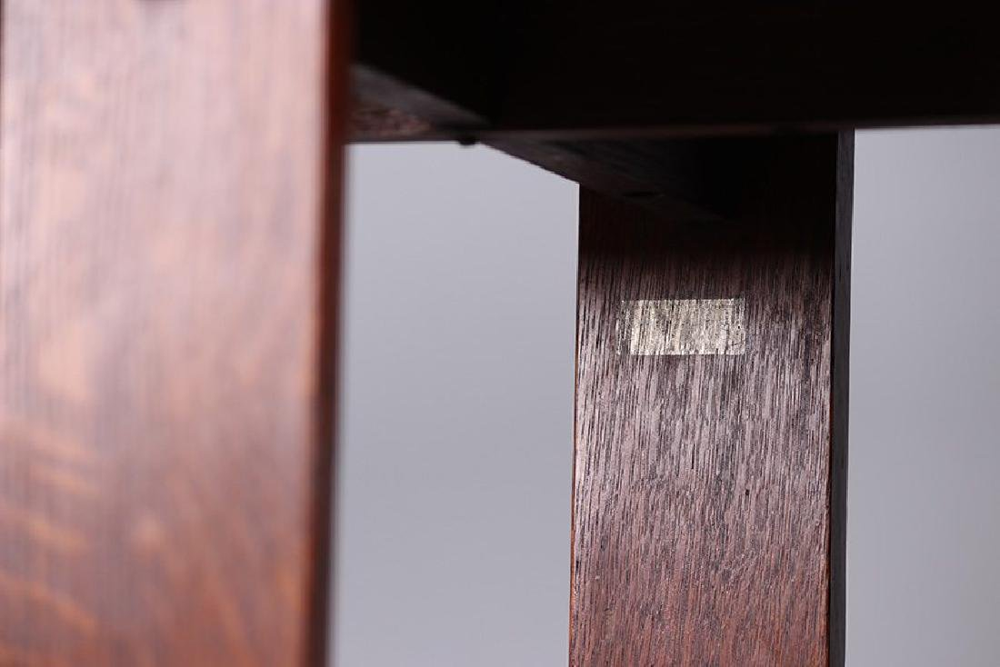 Rare L&JG Stickley Octagonal Side Table #515 - 3