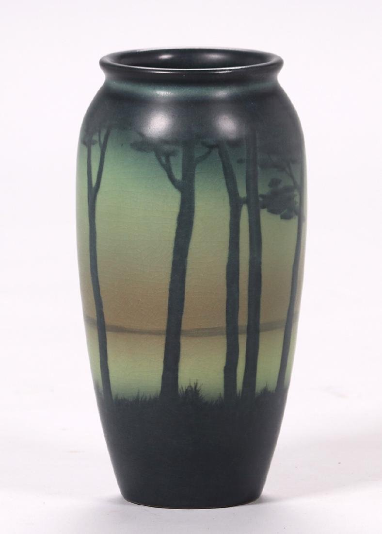 Rookwood Scenic Vase Decorated by Lenore Asbury