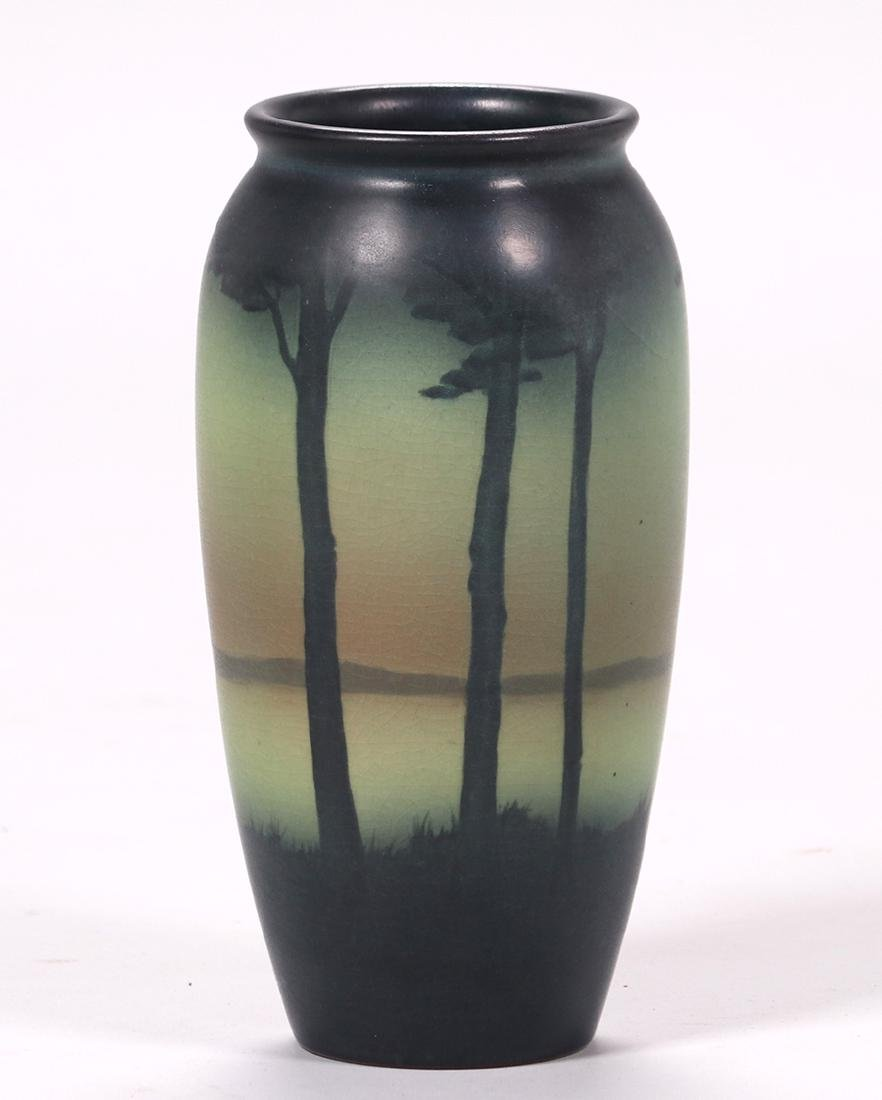 Rookwood Scenic Vase Decorated by Lenore Asbury - 2