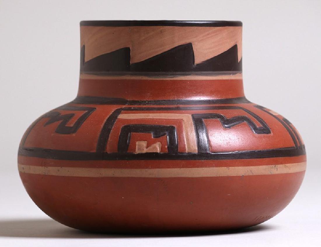 "Clifton Pottery Indian Ware Vase Entitled ""Homolobi"" - 2"