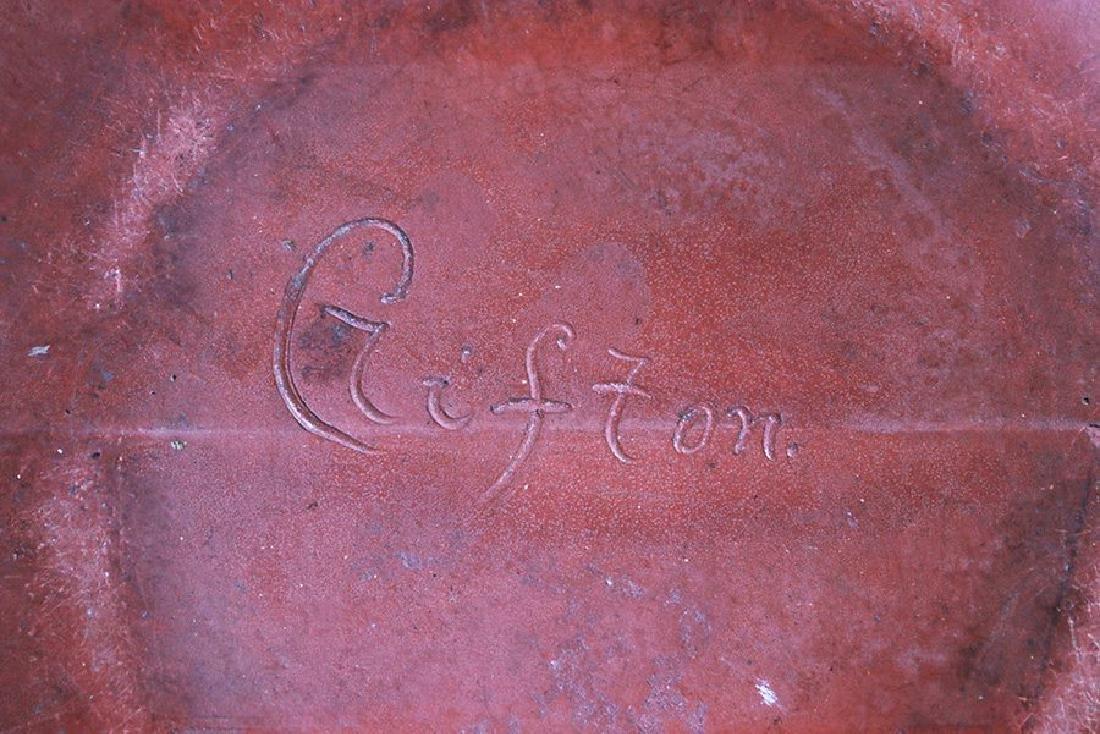 "Clifton Pottery Indian Ware Vase Entitled ""Homolobi"" - 5"