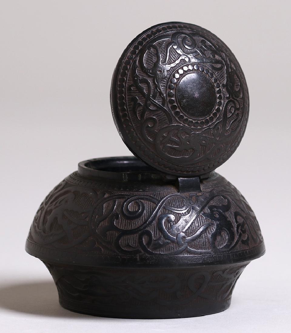 Marshall Fields (Chicago) Bronze Inkwell c1905-1910 - 3