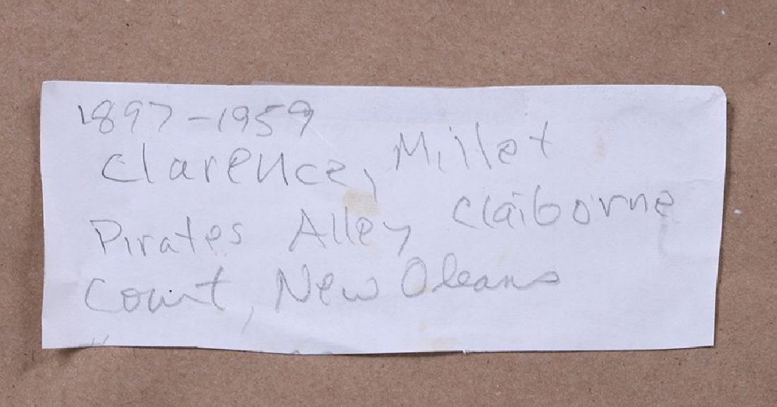Clarence Millet (1897-1959) Woodblock Print - 6