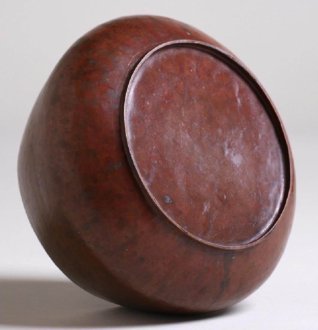 Dirk van Erp Hammered Copper Jardiniere c1908-1909 - 3