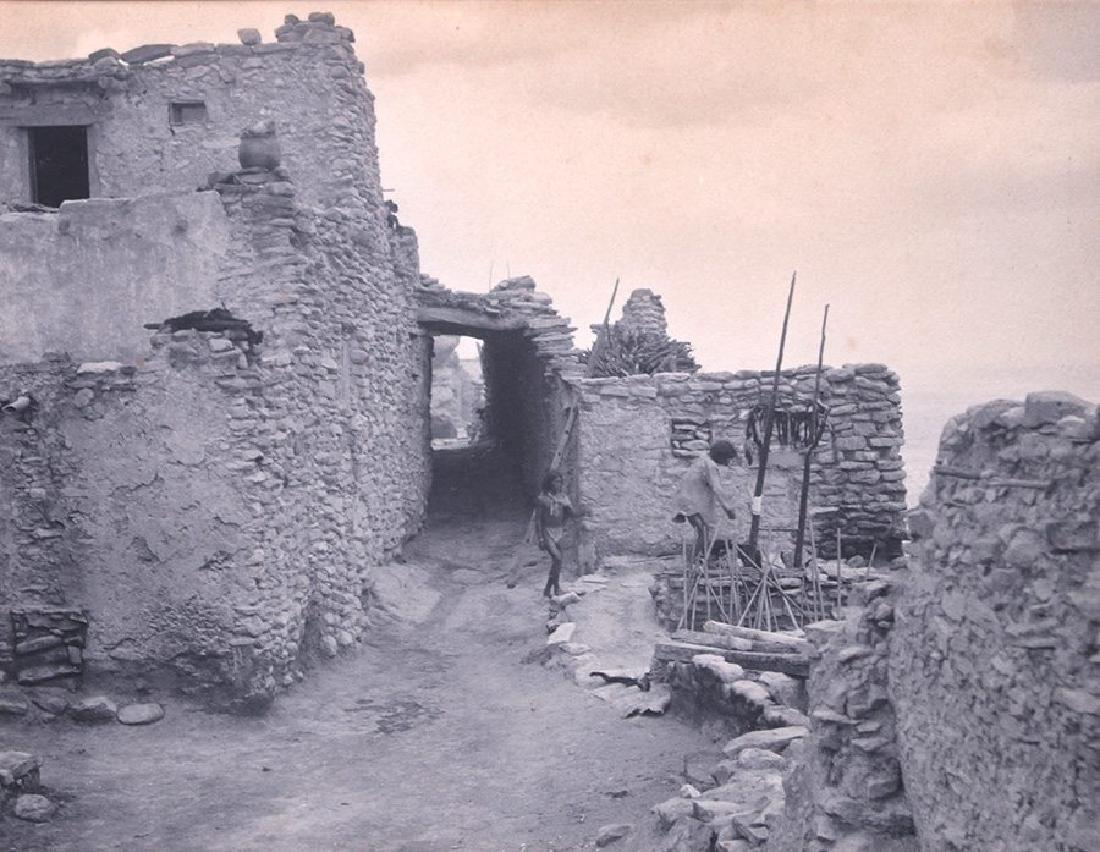 Vintage Photograph of First Mesa, Walpi Village, AZ