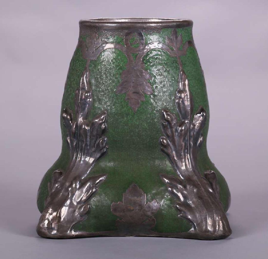 Wheatley Pottery Matte Green Vase - 2