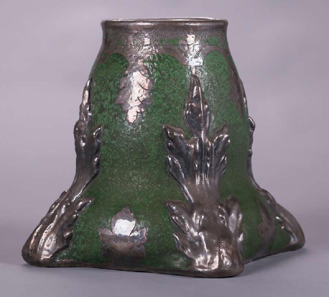 Wheatley Pottery Matte Green Vase - 3