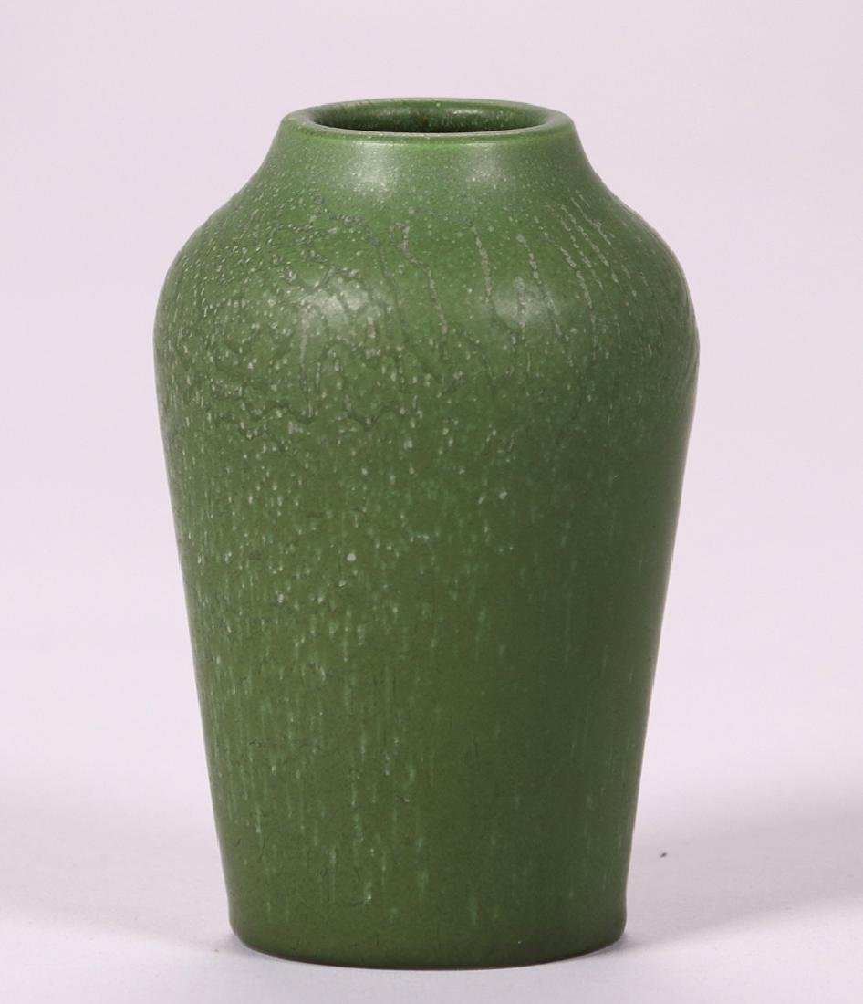 Hampshire Pottery Matte Green Vase - 2
