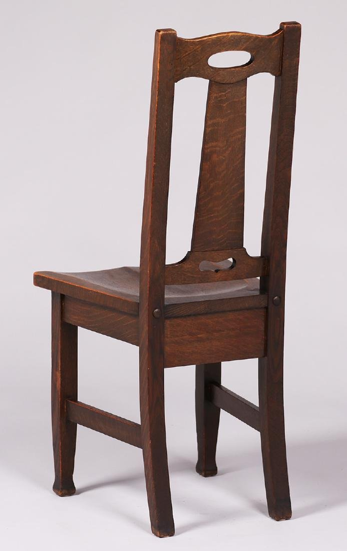 Stickley Brothers Side Chair with Cutout Handle Back - 3