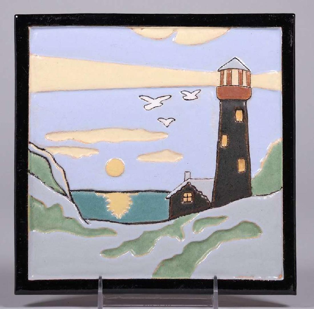 Franklin Tile Co – Lancaster, PA Lighthouse Tile c.1923