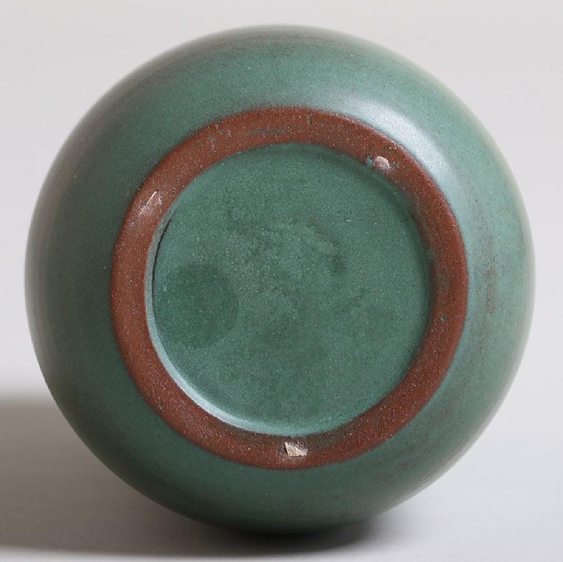 Marblehead Pottery Matte Green Vase - 3
