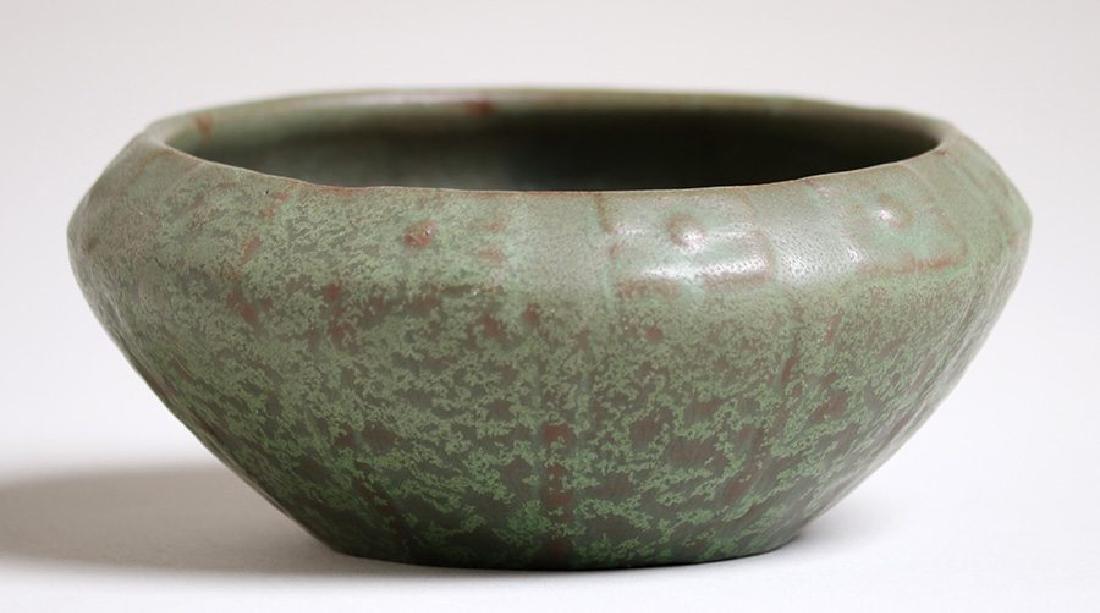 Van Briggle Matte Green #589 Bowl c1907