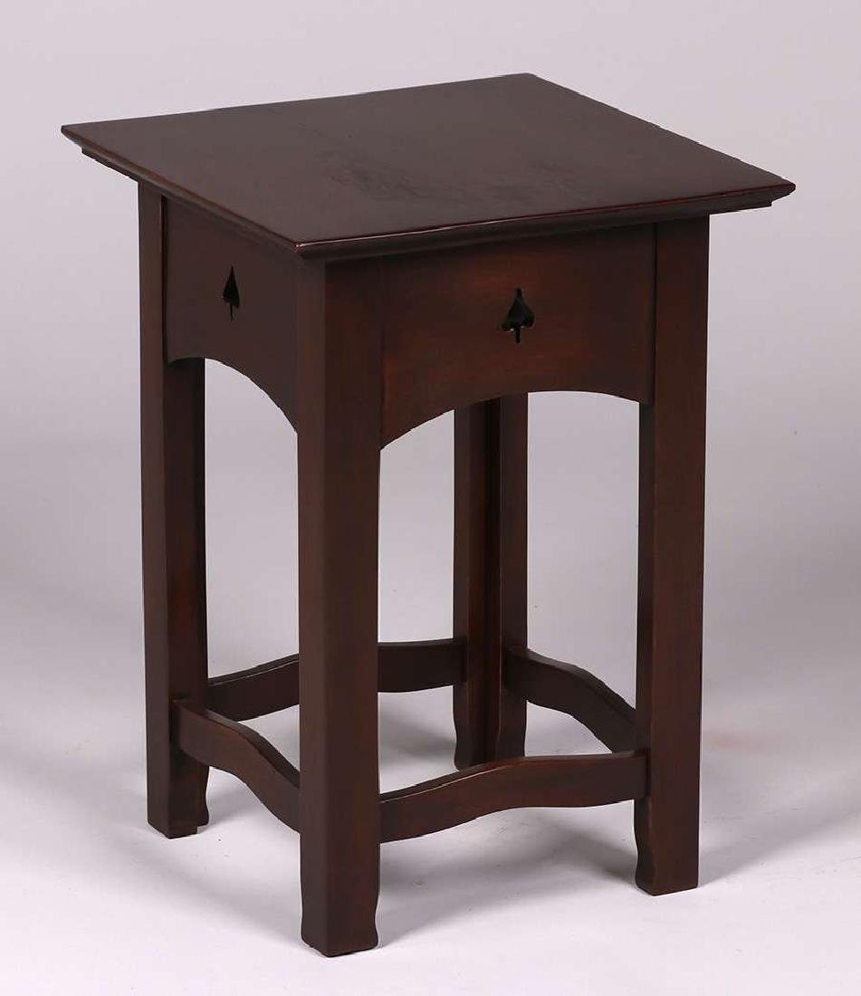 Early Gustav Stickley #7 1/2  India Plant Stand c1900