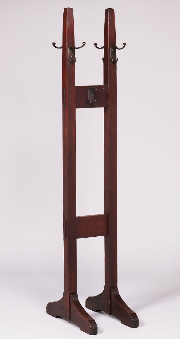 Gustav Stickley double coatrack