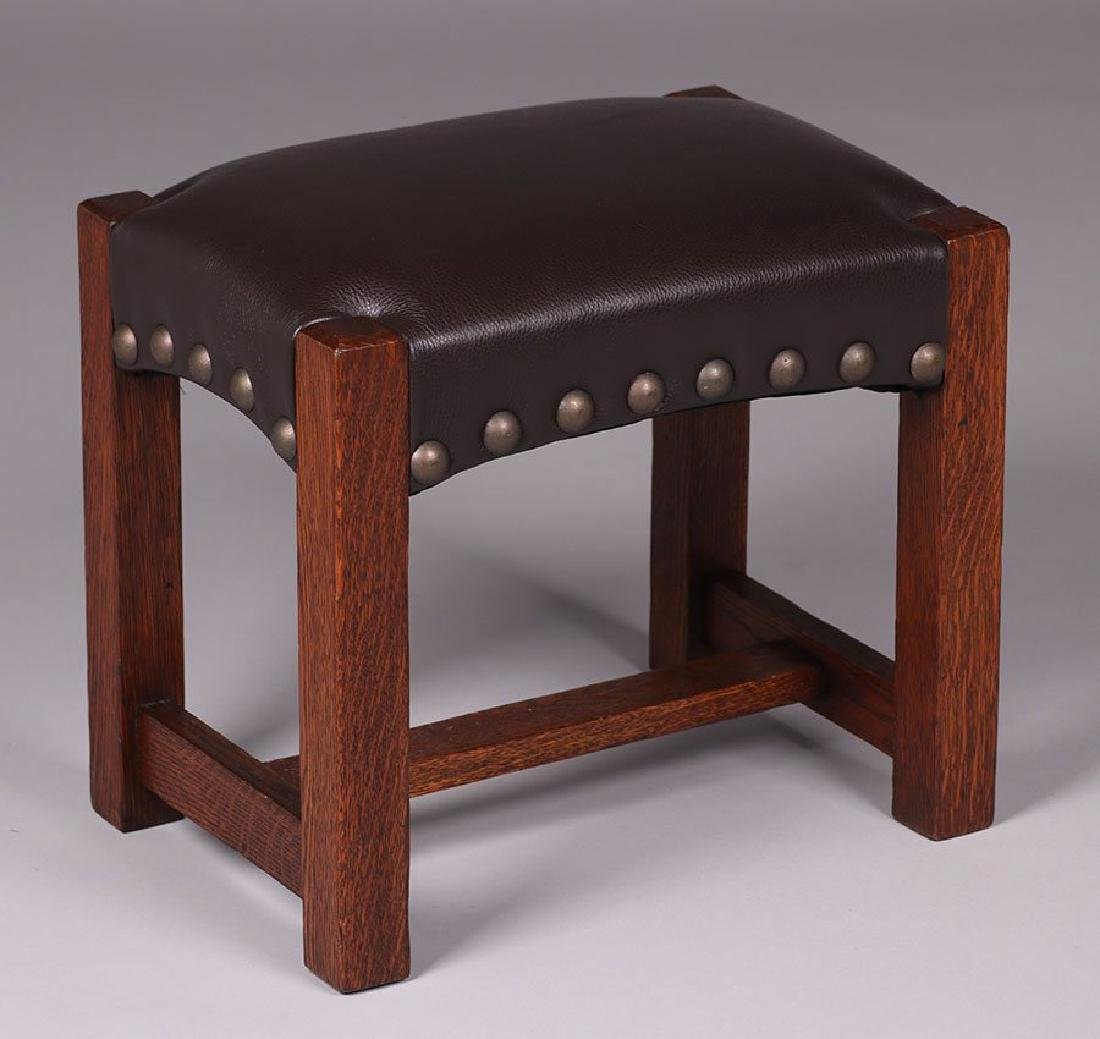 Stickley Brothers Footstool.