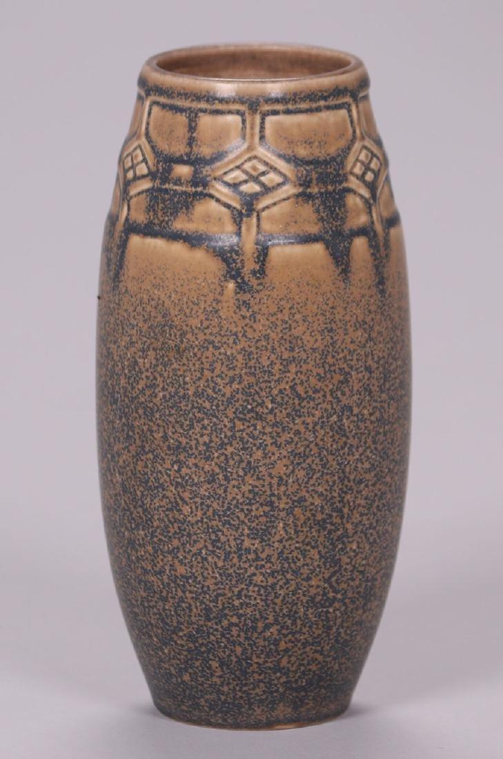 Rookwood Matte Brown Ombroso Glaze Vase #2435