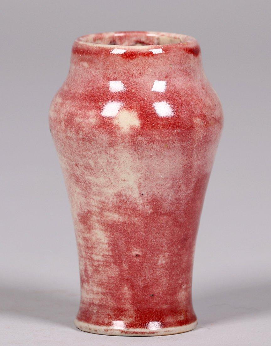 Volkmar Pottery Oxblood Vase