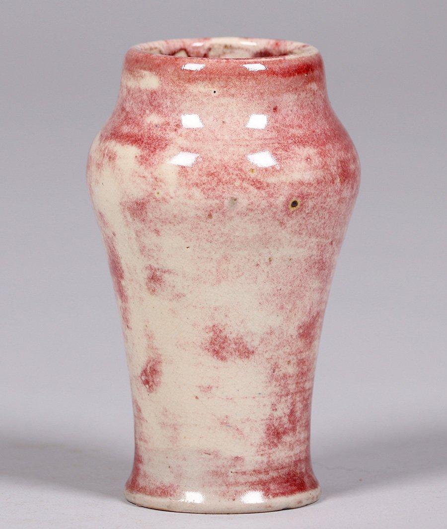 Volkmar Pottery Oxblood Vase - 3