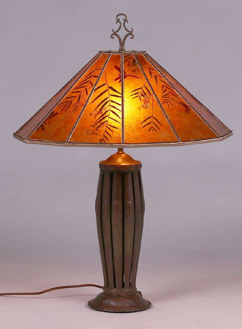 Spanish Revival - Arts & Crafts hammered copper and