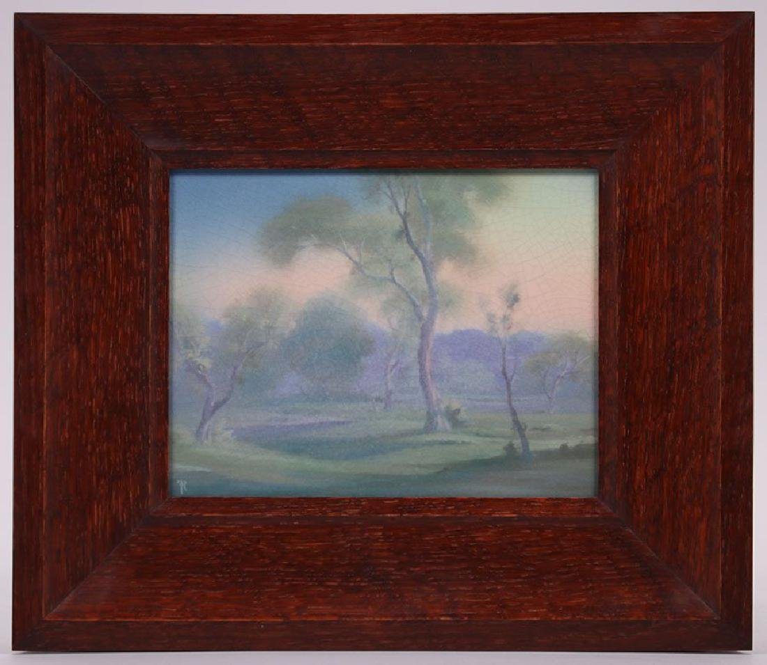 Rookwood Scenic Plaque Frederick Rothenbusch 1921 - 2