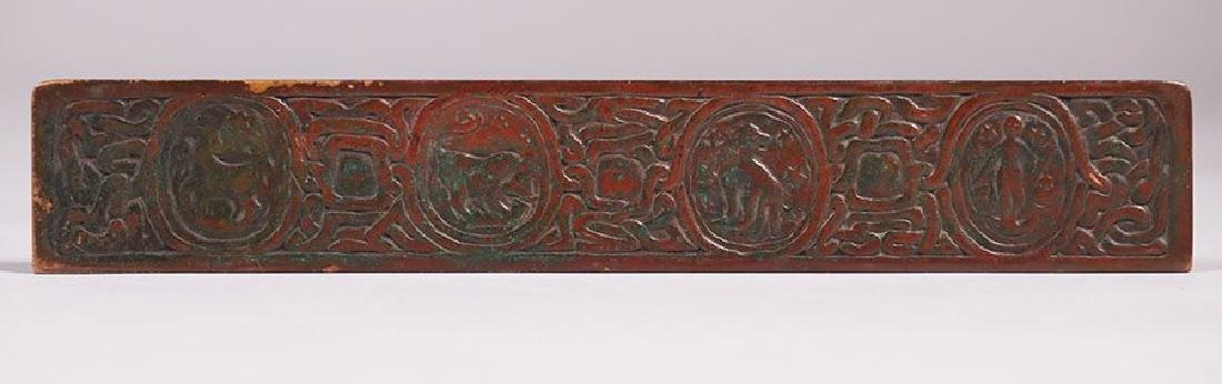 Tiffany Studios Bronze Zodiac Desk Pad Holders - 3