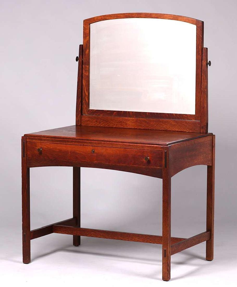 Limbert vanity with mirror.