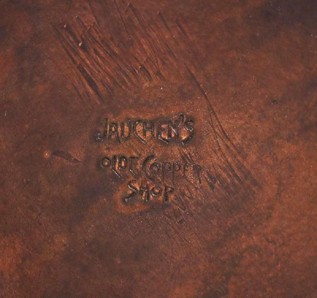 Jauchens Olde Copper Shop Eucalyptus Candlestick - 4