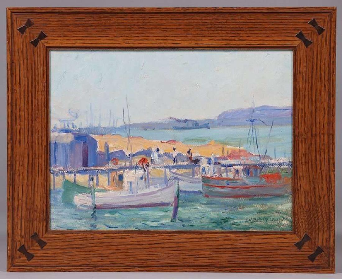 Anna Marie Valentien Painting San Diego Harbor - 2