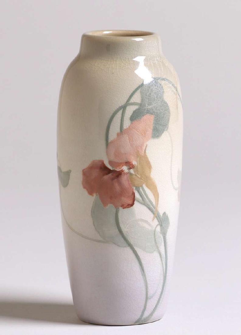 Rookwood Iris Glazed Vase Frederick Rothenbusch