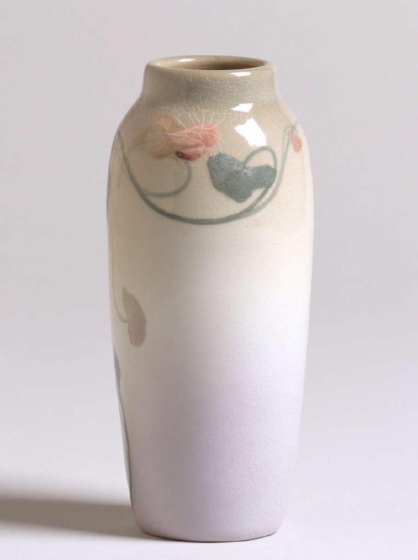 Rookwood Iris Glazed Vase Frederick Rothenbusch - 2